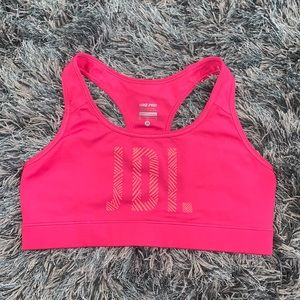 Nike Dri-FIT Sports Bra(Just Do It) sz M